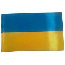 Флаг Украины атлас 90*135 см.