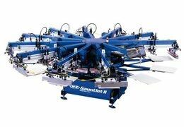 Полуавтоматическая машина для печати по текстилю Sportman (США)